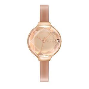当店1年保証 ルンバタイムRumbaTime Women's Orchard Gem Patent Japanese-Quartz Watch with Leather Strap, Champagne, 8 (|planetdream