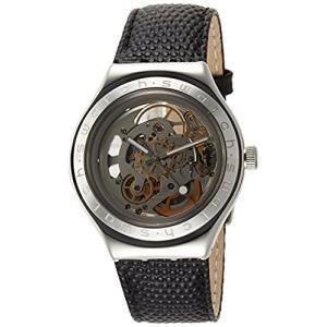 当店1年保証 スウォッチSwatch Women's Analogue Quartz Watch with Leather Strap YAS100D|planetdream