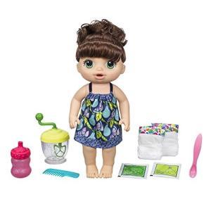 ベビーアライブBaby Alive Sweet Spoonfuls Baby Doll Girl (Brunette)|planetdream