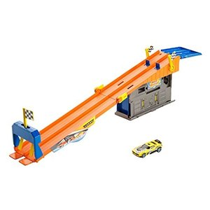 ホットウィールHot Wheels Rooftop Race Garage Playset|planetdream
