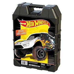 ホットウィールHot Wheels 48- Car storage Case With Easy Grip Carrying Case|planetdream