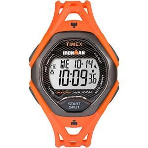 当店1年保証 タイメックスTimex Men's TW5M10500 Ironman Sleek 30 Orange/Black Resin Strap Watch planetdream