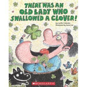 海外製絵本There Was an Old Lady Who Swallowed a Clover!|planetdream