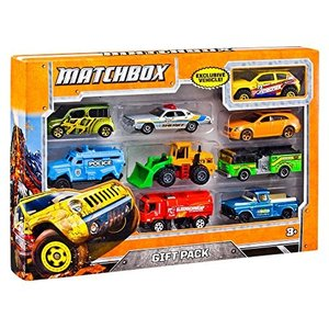 ホットウィールMatchbox 9-Car Gift Pack (Styles May Vary)|planetdream