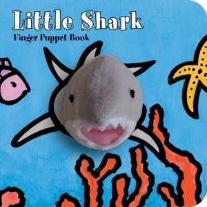 海外製絵本Little Shark: Finger Puppet Book: (Puppet Book for Baby, Little Toy Board Book, Baby Shark)|planetdream