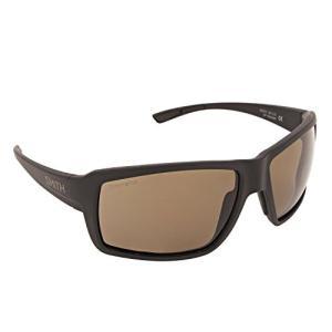 スミスSmith Optics Mens Ridgewell Polarized Sunglasses Matte Black/ChromaPop Copper|planetdream