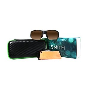 スミスSmith Captains Choice ChromaPop+ Polarized Sunglasses, Matte Havana, Brown Lens|planetdream
