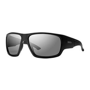 スミスSmith Optics Elite Dragstrip Carbonic Elite Ballistic Sunglasses, Matte Black, Gray|planetdream