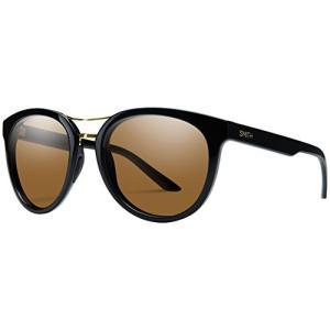 スミスSmith Bridgetown Sunglasses Black with ChromaPop Polarized Brown Lens|planetdream