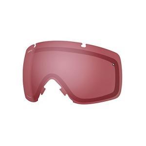スミスSmith Optics IO Adult Replacement Lens Snow Goggles Accessories - Chromapop Everyday Rose/One Size|planetdream