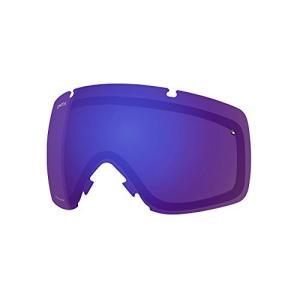 スミスSmith Optics IO Adult Replacement Lense Snow Goggles Accessories - Chromapop Everyday Violet Mirror/One Size|planetdream