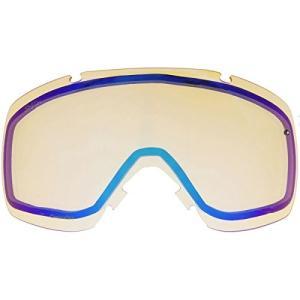 スミスSmith Optics IO Adult Replacement Lens Snow Goggles Accessories - Chromapop Storm Yellow Flash/One Size|planetdream