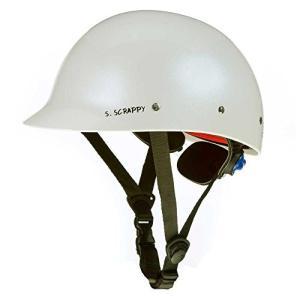 ウォーターヘルメットShred Ready Super Scrappy Kayak Helmet Pearl White, One Size planetdream