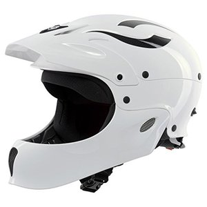 ウォーターヘルメットSweet Protection Rocker Fullface Paddle Helmet, Gloss White, Large/X-Large planetdream
