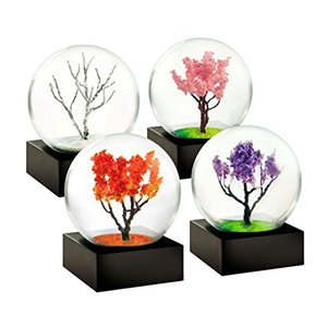 スノーグローブMini Seasons set of 4 Snow Globes by CoolSnowGlobes|planetdream