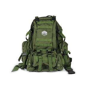 ミリタリーバックパックTurtle Creek 50L Hiking Backpack - Durable Tactical Backpack with 1000D Nylon - Water Resistant C|planetdream