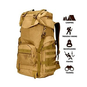 ミリタリーバックパック70L Military Tactical Backpack Large Army 3 Day Assault Pack Molle Backpacks Rucksacks for Outdoo|planetdream