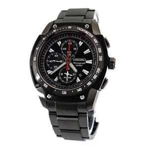 当店1年保証 セイコーSeiko Men's SE-SNAD49P1 Motor Sports Black Dial Watch|planetdream