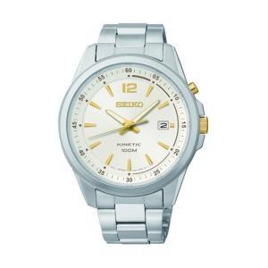 当店1年保証 セイコーSeiko Gents Kinetic Bracelet Watch SKA593P1|planetdream