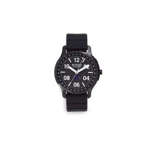 当店1年保証 ニクソンNixon Men's Ascender Sport Watch, 44mm, Black, One Size|planetdream