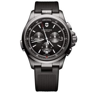 当店1年保証 ビクトリノックスVictorinox Night Vision Chronograph Quartz Men's Watch 241731|planetdream