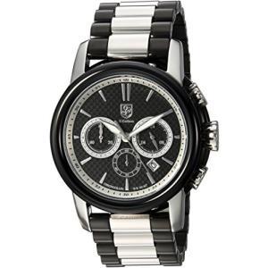 当店1年保証 S.Coifman(コイフマン)S. Coifman Men's Origins Quartz Watch with Stainless-Steel Strap, Two Tone, 24 (M|planetdream