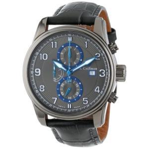 当店1年保証 S.Coifman(コイフマン)S. Coifman Men's SC0312  Chronograph Grey Dial Grey Leather Watch|planetdream