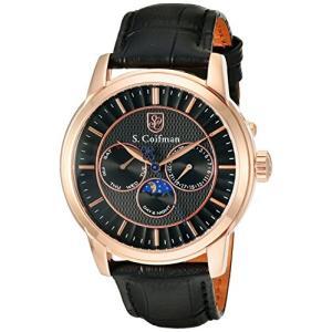 当店1年保証 S.Coifman(コイフマン)S. Coifman Men's SC0215 Swiss Stainless Steel Black Watch|planetdream