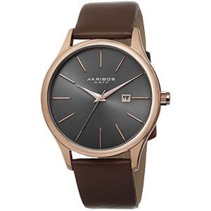 当店1年保証 アクリボスXXIVAkribos XXIV Men's AK618RG Essential Dress Watch|planetdream