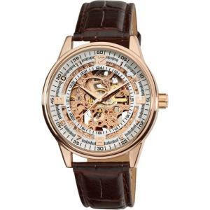 当店1年保証 アクリボスXXIVAkribos Automatic Skeleton Mechanical Men's Watch -