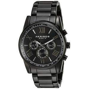 当店1年保証 アクリボスXXIVAkribos Multifunction Stainless Steel Chronograph Watch - 3 Sub-Dials Complications Quartz -|planetdream