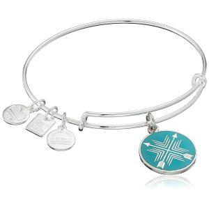 アレックスアンドアニAlex and Ani Charity By Design Arrows of Friendship Expandable Shinny Silver Bangle Bracelet|planetdream