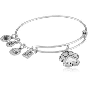 アレックスアンドアニAlex and Ani Charity By Design, Prints of Love Expandable Rafaelian Silver Bangle Bracelet|planetdream