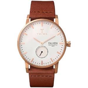 当店1年保証 トリワTriwa Rose Falken Unisex Watch with Brown Classic Leather Band FAST101 CL010214|planetdream