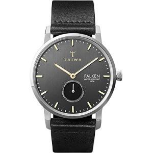 当店1年保証 トリワTriwa Falken Watch Smoky Falken/Black Classic, One Size|planetdream