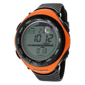 当店1年保証 スントSuunto Men's Digital Vector-Orange Multi-Function Black Silicone|planetdream
