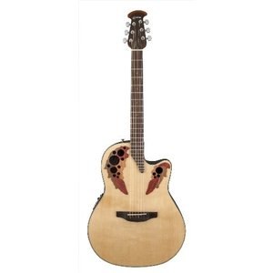 オベーションOvation Celebrity Elite Acoustic-Electric Guitar - Natural|planetdream