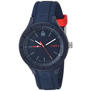 当店1年保証 タイメックスTimex TW5M17000 Ironman Essential Urban Analog 42mm Navy/Red Silicone Strap Watch planetdream