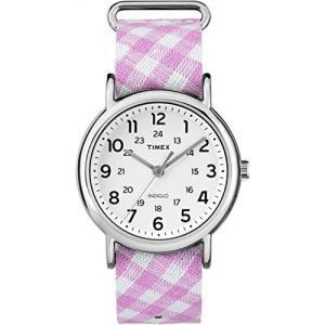 当店1年保証 タイメックスTimex Women's Style Weekender Slip-Thru Pink/White 2 One Size planetdream