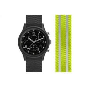 当店1年保証 タイメックスTimex Men's MK1 Chrono 40mm   Yellow Reflective Fabric Watch   Watch TW2R81400 planetdream