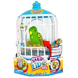リトルライブペッツLittle Live Pets Cage #1 Friendly Frankie Bird Cage (Discontinued by manufacturer)|planetdream