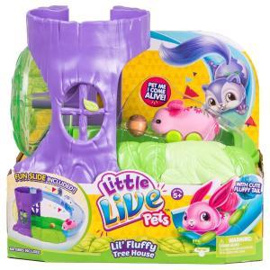 リトルライブペッツLittle Live Pets S1 Lil' Fluffy Friends - Lil' Fluffy Tree House (Master)|planetdream