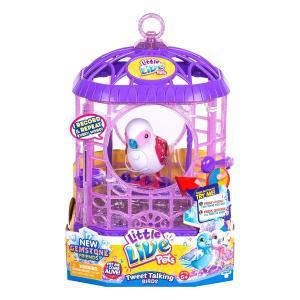 リトルライブペッツLittle Live Pets S6 Bird with Cage (Master) Toy|planetdream