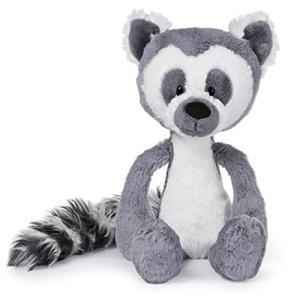 ガンドGUND Toothpick Casey Lemur Plush Stuffed Animal, Black and White, 15