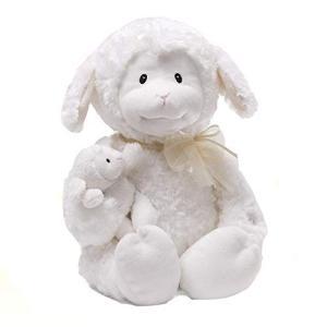 ガンドGUND Nursery Rhyme Time Lamb Animated Stuffed Animal Plush, White, 10