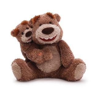ガンドGund Like Father Like Son Animated Plush Bear, 10-Inch|planetdream