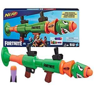 ナーフNERF Fortnite Rl Blaster -- Fires Foam Rockets -- Includes 2 Official Fortnite Rockets -- for Youth, Teens, Adults|planetdream