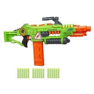ナーフNERF Revoltinator Zombie Strike Toy Blaster with Motorized Lights Sounds & 18 Official Darts for Kids, Teens, & Adults|planetdream