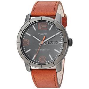 当店1年保証 タイメックスTimex Men's TW2R64000 Mod 44 Brown/Black Leather Strap Watch planetdream