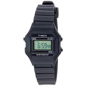 当店1年保証 タイメックスTimex Women's TW2T48700 Classic Digital Mini Black Resin Strap Watch planetdream
